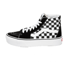Vans Sk8-Hi Platform 2.0 Suede Checkerboard/True White