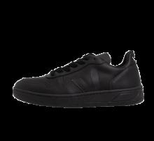 Veja V-10 Leather Black/Black