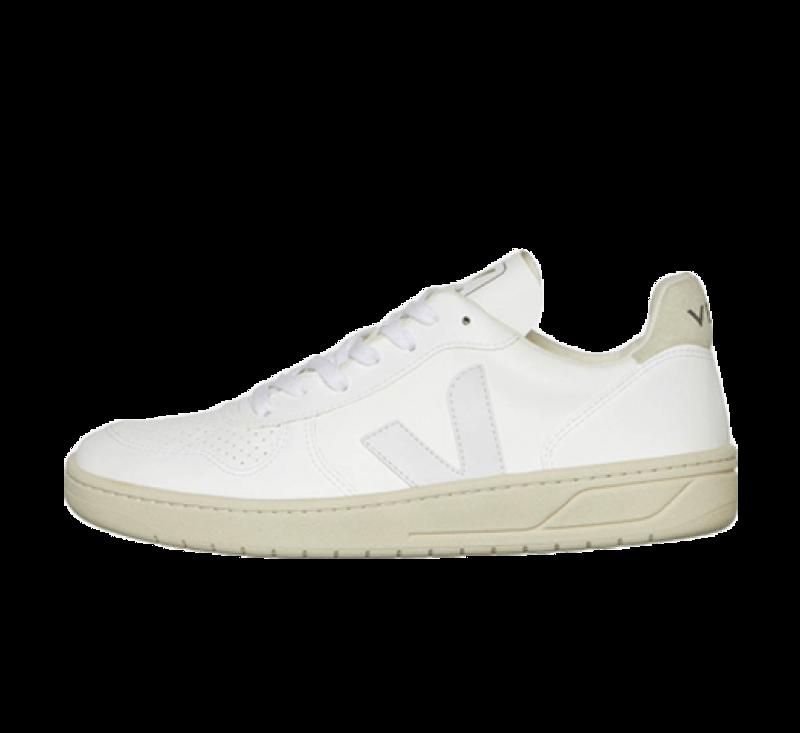Veja V-10 CWL White/White-natural