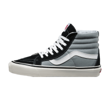Vans Sk8-Hi 38 DX Anaheim Factory Black/Light Grey