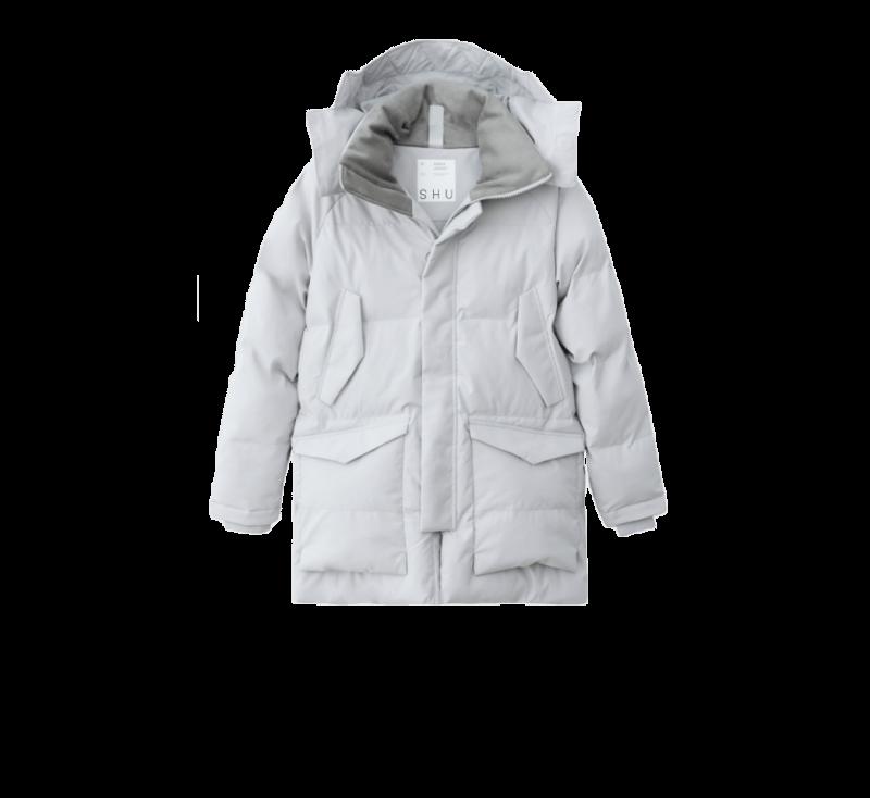SHU Warm Jacket Light Gray