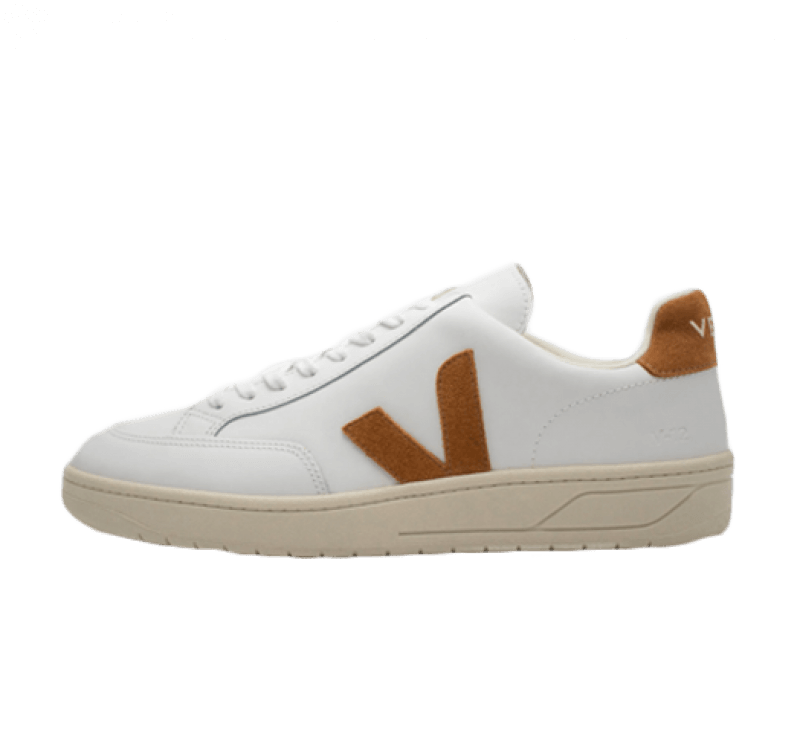 Veja V-12 Leather Extra White/Camel