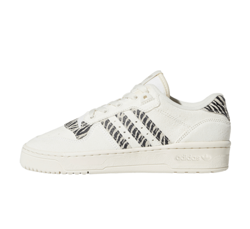 Adidas Rivalry Low Zebra Supplier Colour/Clear Brown
