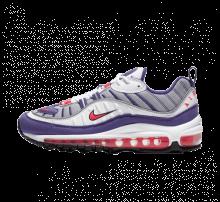 Nike Women's Air Max 98 White/Racer Pink-Reflect Silver-Black