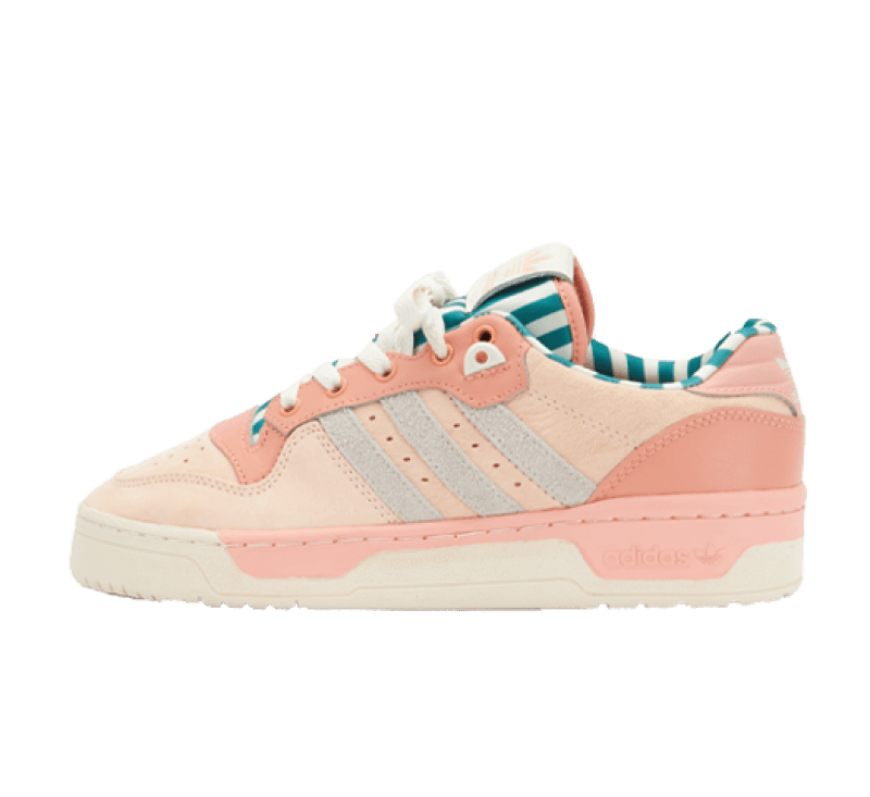 Adidas Women's Rivalry Low Pink Tint/Ambient Blush/Off White
