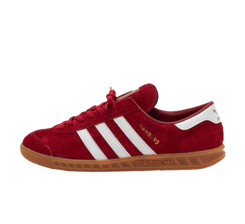 Adidas Hamburg Team Victory Red / Footwear White / Gum 2