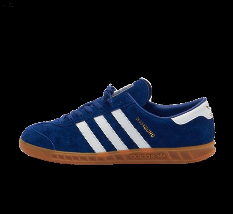 Adidas Hamburg Victory Blue / Footwear White / Gum 2