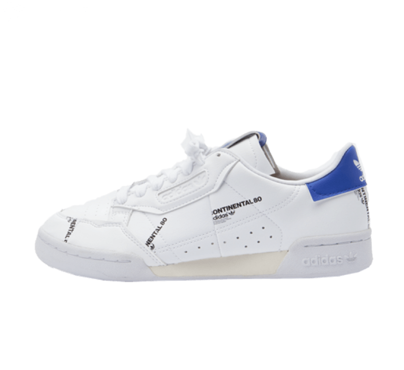 Adidas Continental 80 Footwear White/Off White-Sonic Ink