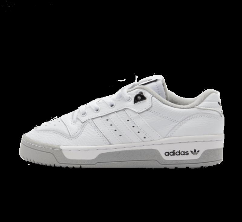 Adidas Rivalry Low Premium Footwear White / Grey Two / Core Black