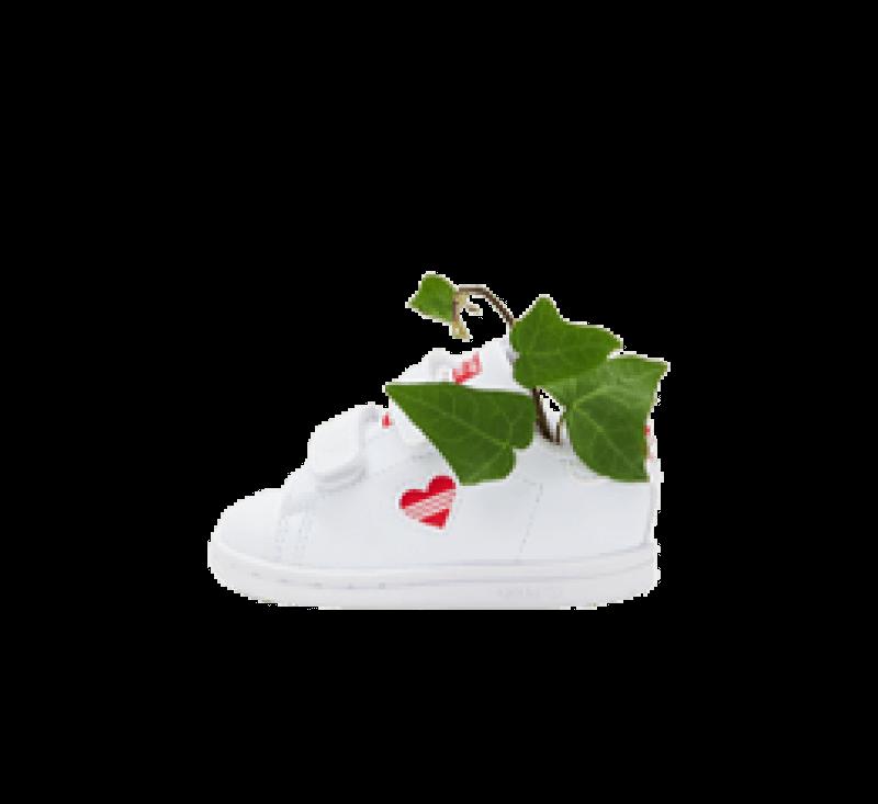 Adidas Stan Smith CF Footwear White/Vivid Red
