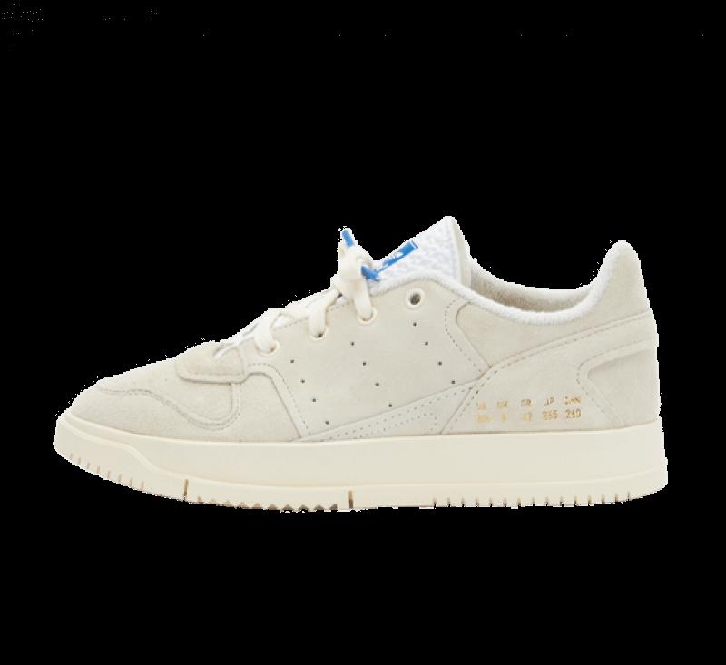 Adidas Supercourt 2 Premium Basics Pack Cream White/Footwear White-Blue Bird