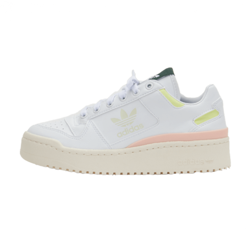 Adidas Women's Forum Bold Tennis Luxe Pack Footwear White/Off White-Green Oxide