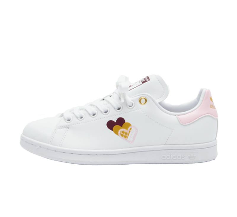 Adidas Women's Stan Smith Footwear White / Clear Pink / Victory Crimson