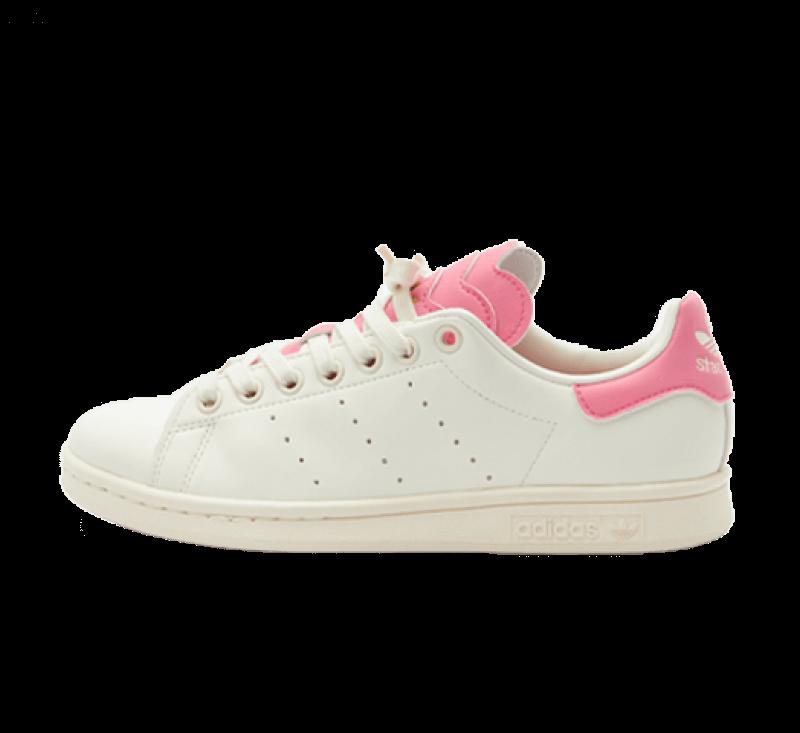 Adidas Women's Stan Smith Off White / Rose Tone