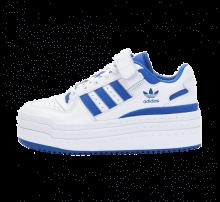 Adidas Women's Triple Platforum Low Footwear White/Royal Blue