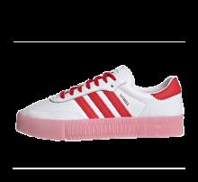 Adidas Women's Sambarose Footwear White/Vivid Red-True Pink