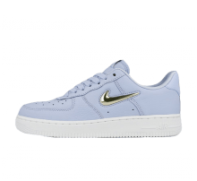 Nike Women's Air Force 1 '07 Premium LX Royal Tint/Metallic Gold Star