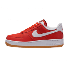 Nike Women's Air Force 1 '07 Premium Habanero Red/White-Gum