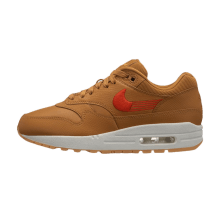 Nike Women's Air Max 1 Premium Wheat/Team Orange-Gum