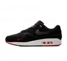 Nike Air Max 1 Premium Mini Swoosh Black/University Red