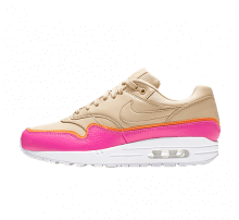 Nike Women's Air Max 1 SE Desert Ore/Laser Fuchsia