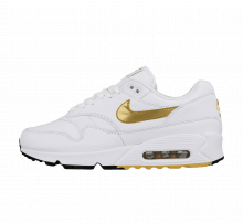 Nike Air Max 90/1 White/Metallic Gold-Black