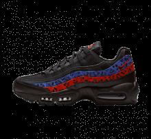 c770a031e50 Nike Air Max 95 Premium Black Leopard Habanero Red Racer Blue