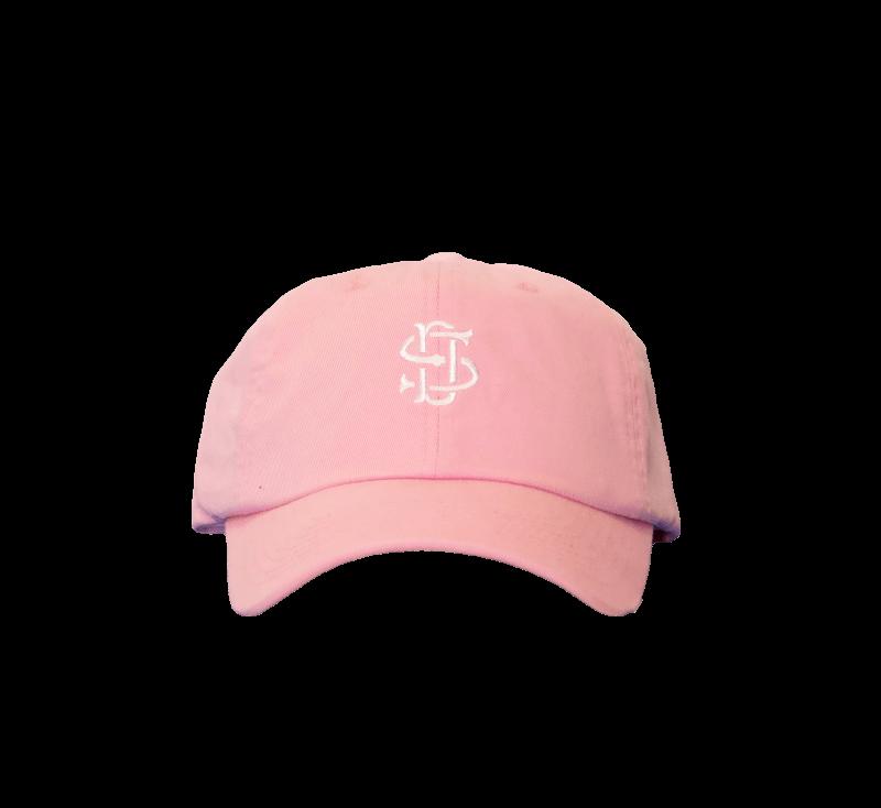 Sneaker District Baseball Cap Pink/White