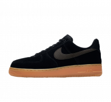 Nike Air Force 1 '07 LV8 Suede Black/Gum