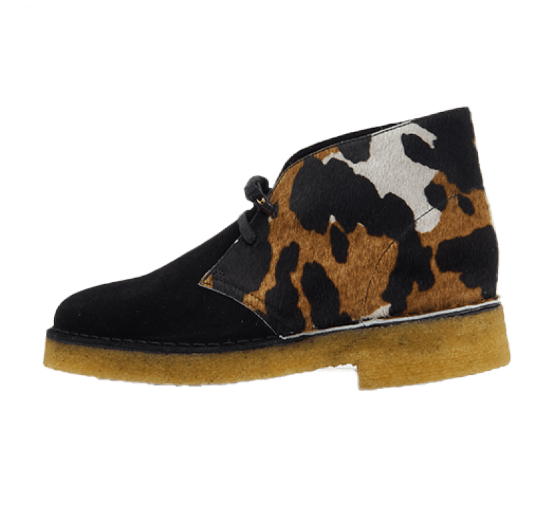 Clarks Women's Desert Boot 221 Cow Print