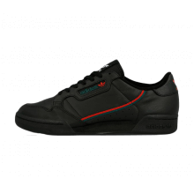Adidas Continental 80 Core Black/Scarlet-Green