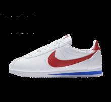 Nike Classic Cortez Leather White/Varsity Red-Varsity Royal