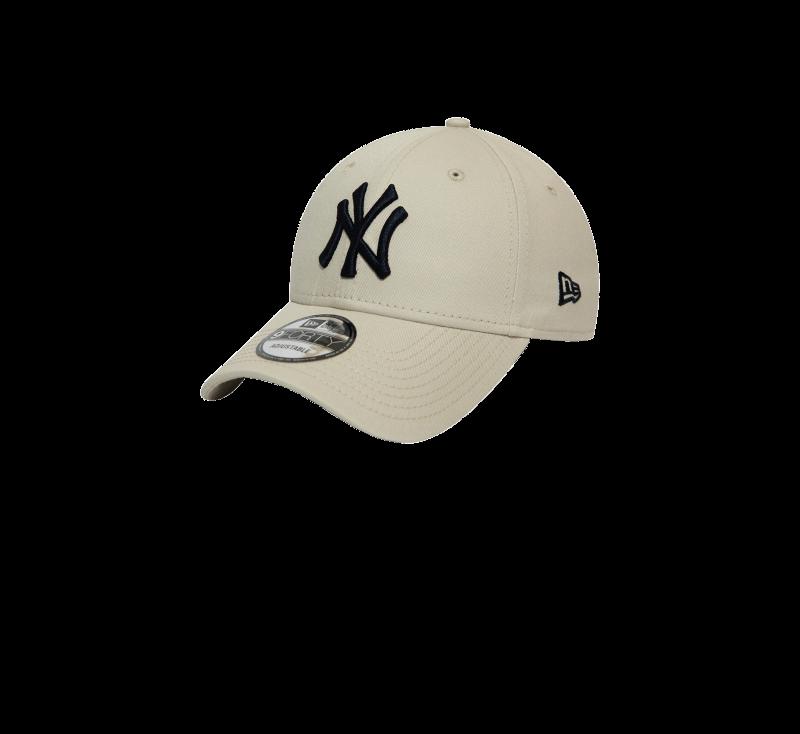 New Era League Essential 940 NY Yankees Light Grey/Black