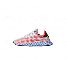 Adidas Deerupt Runner Junior Solar Red/Bluebird