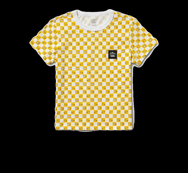 Vans x The Simpsons Tee Checkerboard/Eyes