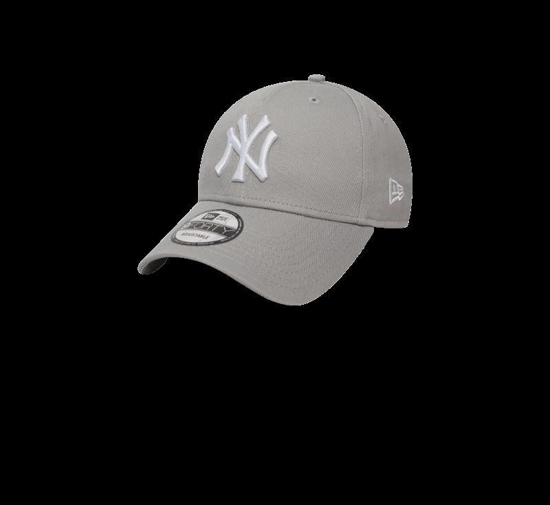 New Era 940 League Basic NY Yankees Gray/White