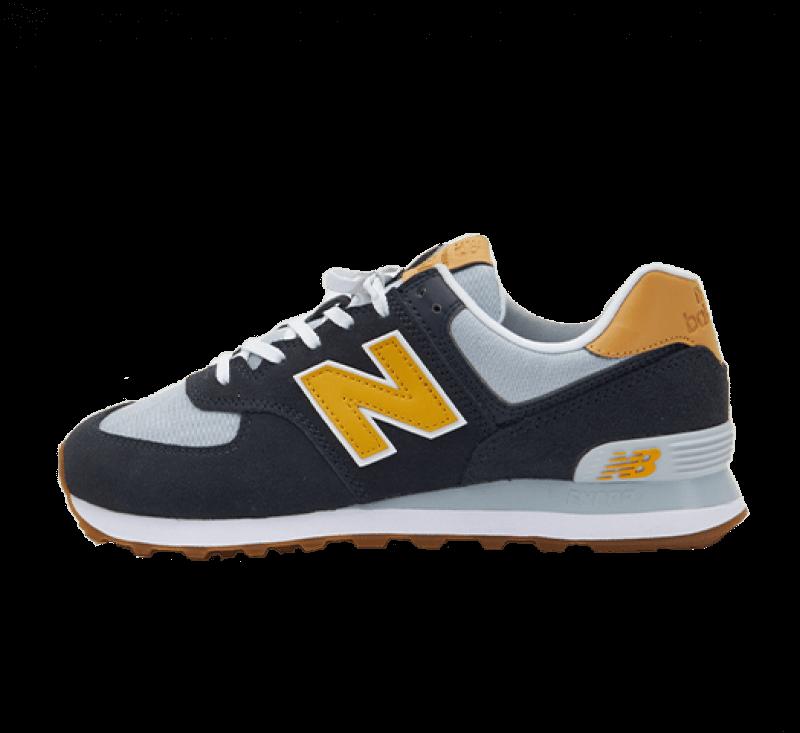 New Balance ML574NA2 Navy/Yellow