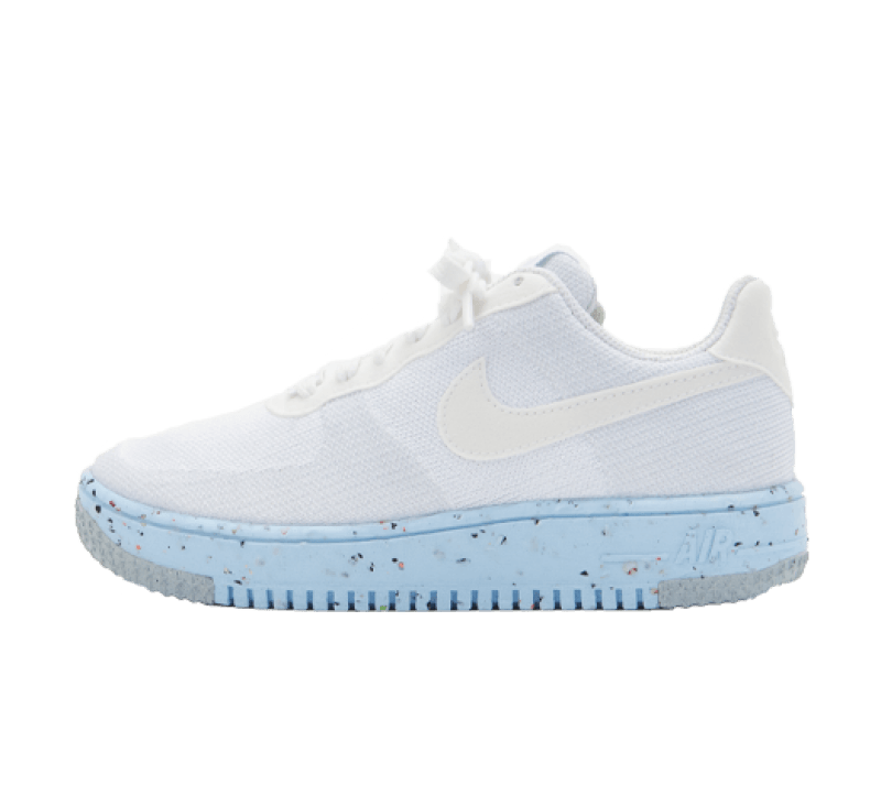 Nike Women's Air Force 1 Crater Flyknit White/Pure Platinum