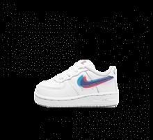 Nike Force 1 LV8 KSA TD White/Blue Hero-Bright Crimson