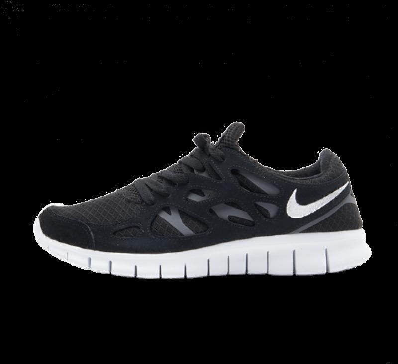 Nike Free Run 2 Black / White - Dark Grey