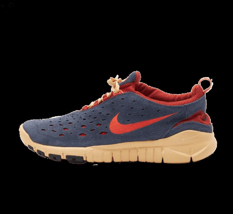 Nike Free Run Trail Thunder Blue / Orange - Cinnabar