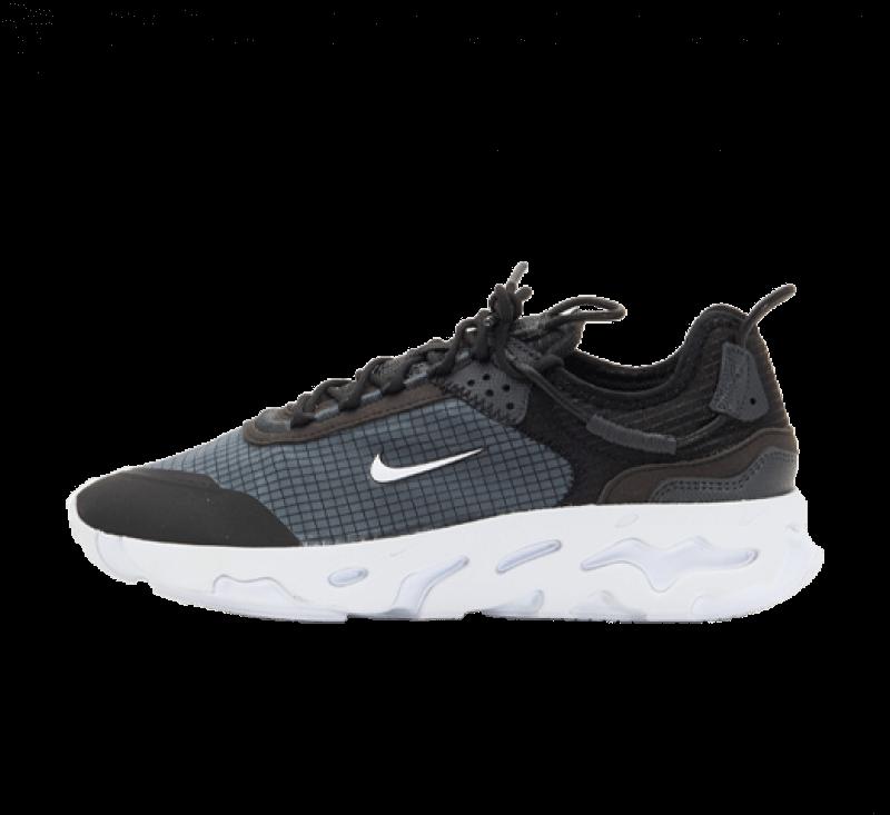 Nike React Live Black/White-Dark Smoke Grey