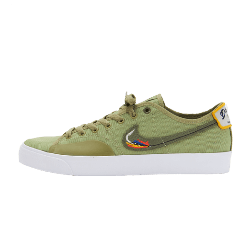Nike SB x Daan van der Linden Blazer Court Dusty Olive/Medium Olive-Light Bone