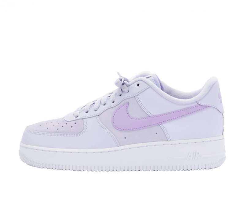 Nike Women's Air Force 1 '07 Essential Pure Violet/Lilac-White