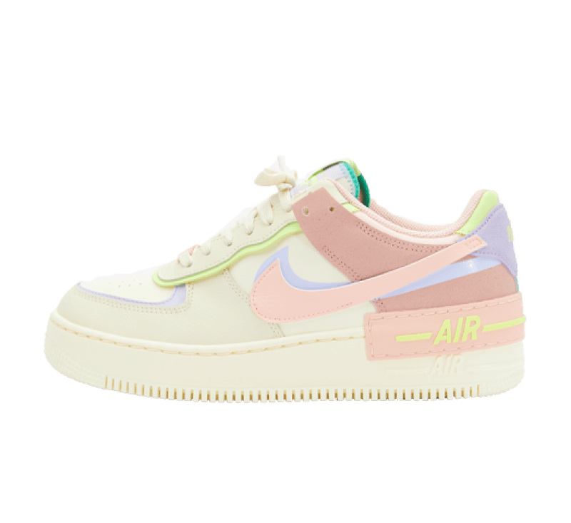 Nike Women's Air Force 1 Shadow Cashmere/Pure Violet-Pink Oxford