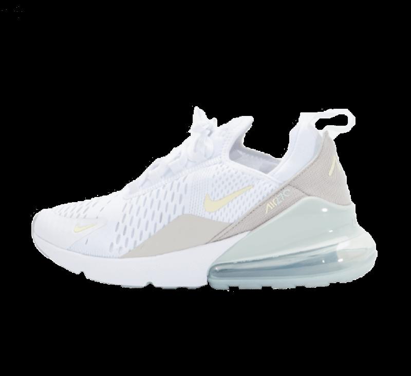 Nike Women's Air Max 270 Essential White/Cashmere-Grey Haze-Light Bone