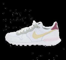 Nike Women's Internationalist White/Lemon Drop-Regal Pink