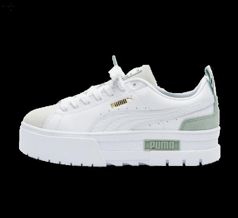 Puma Women's Mayze Premium White / Green