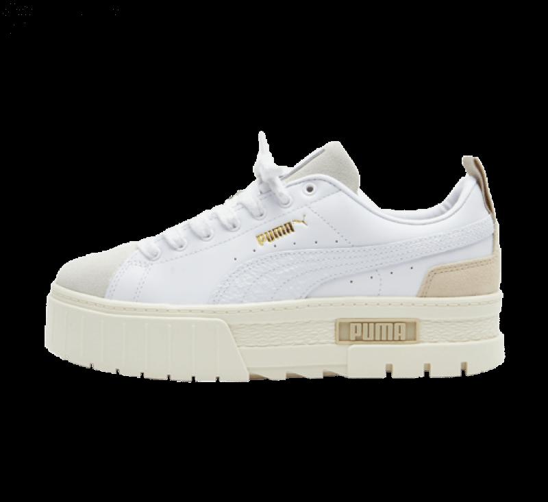 Puma Women's Mayze Premium White / Whisper White