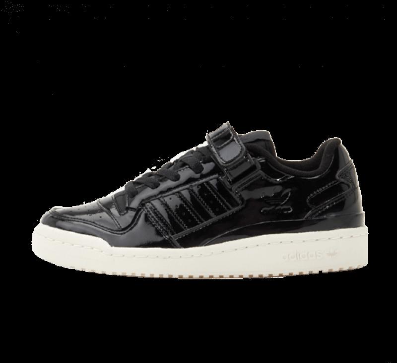 Adidas Women's Forum Low Core Black/Off White